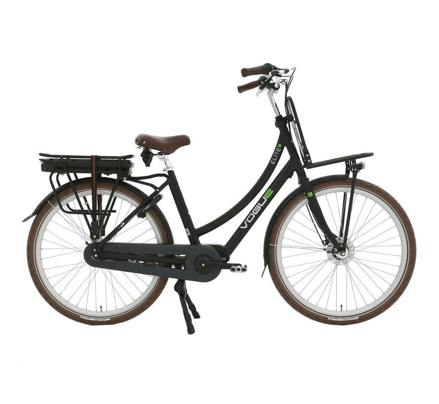 Elite Plus 7V e-bike dames Matt Black