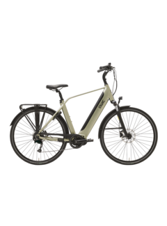 Qwic e-bike premium i md9 timber green Elektrische fiets heren