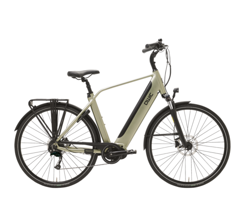 Qwic e-bike premium i md9 timber green Elektrische fiets heren