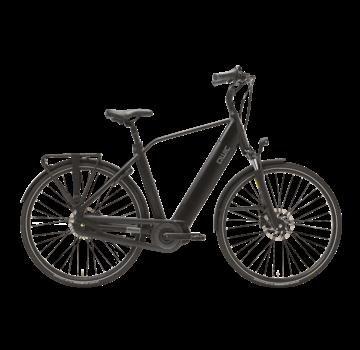 Qwic e-bike premium i mn7 matte black Elektrische fiets heren