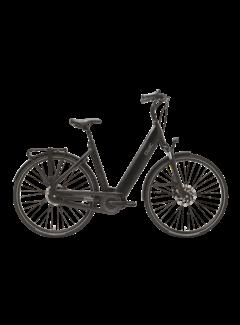 Qwic e-bike premium i mn7 matte black laag instap