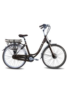 Vogue Premium e-bike 7V dames Matt Brown