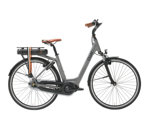 Qwic e-bike premium mn7  space grey Elektrische fiets dames