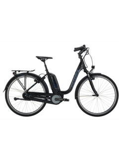 Victoria etrekking 7.4 h deep black matt/grey E-bike
