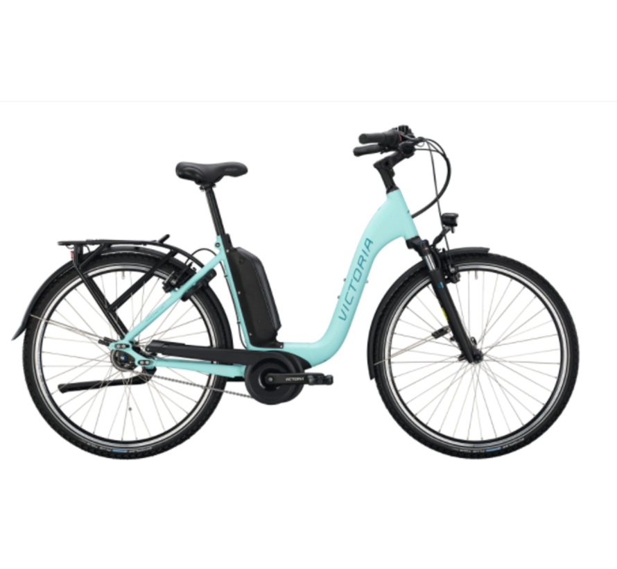 eManufaktur 9.5  pastel turquoise matt / silver E-bike 2021