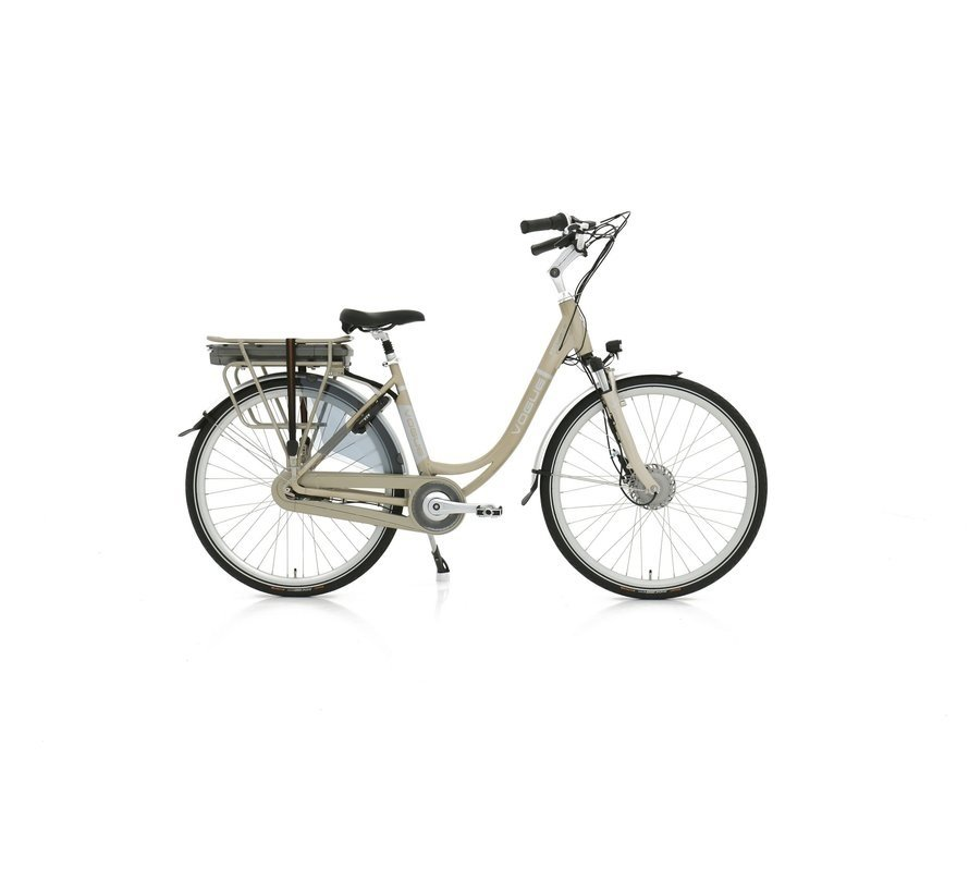 Premium e-bike dames Champagne