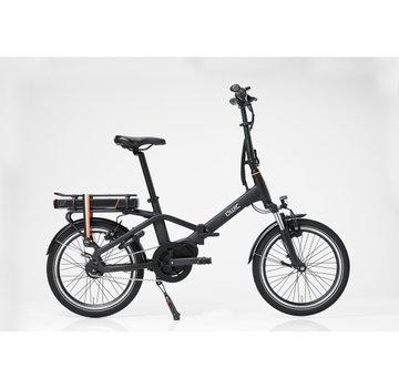 Qwic e-bike compact mn7 matte black Elektrische fiets dames