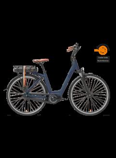 Qwic e-bike premium mn7c midnight blue Elektrische fiets dames