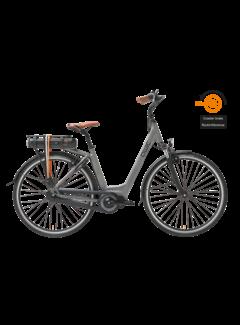 Qwic e-bike premium mn7c space grey Elektrische fiets dames