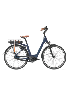 Qwic e-bike premium mn7 midnight blue Elektrische fiets dames