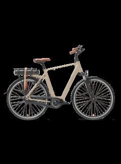 Qwic e-bike premium mn7 maple sand Elektrische fiets heren