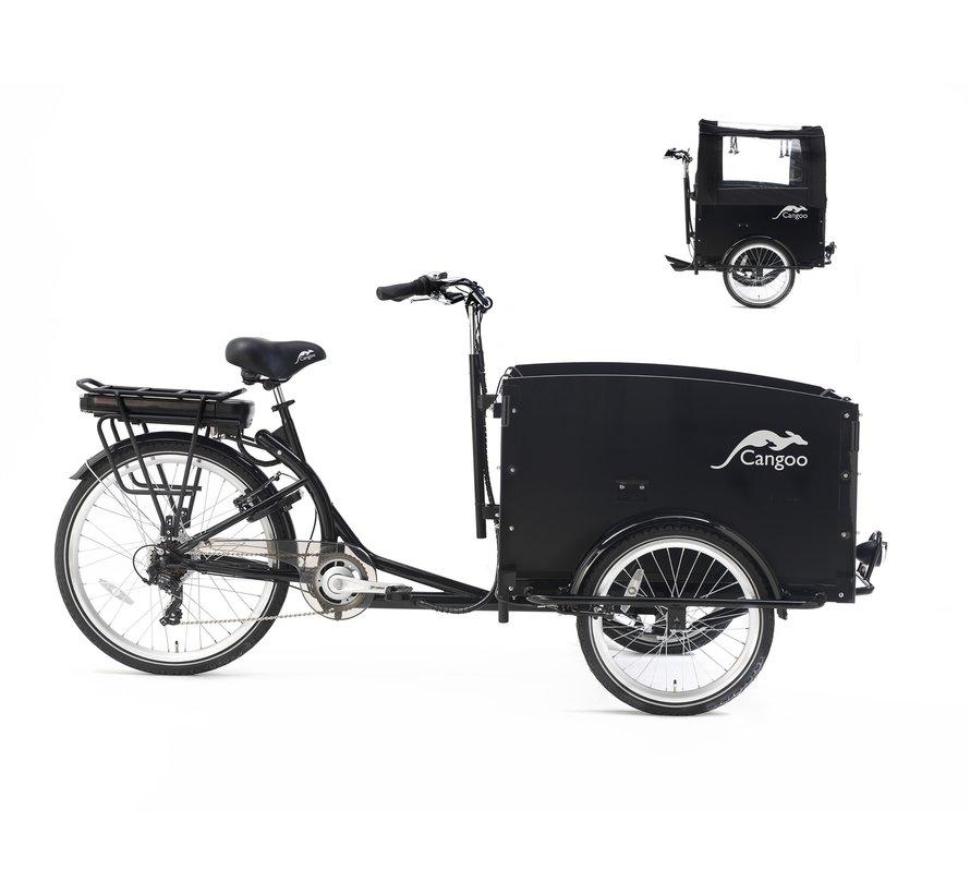 Cangoo Tour 2021  Elektrische bakfiets zwart