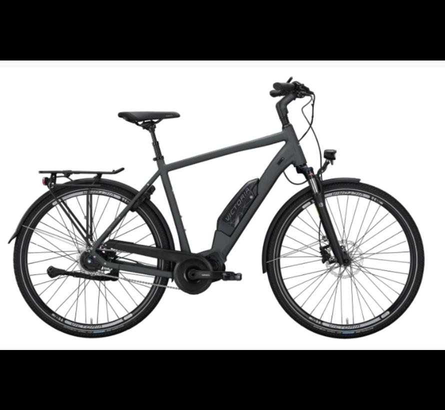 eTouring 7.4  graphite grey matt / silver e-bike