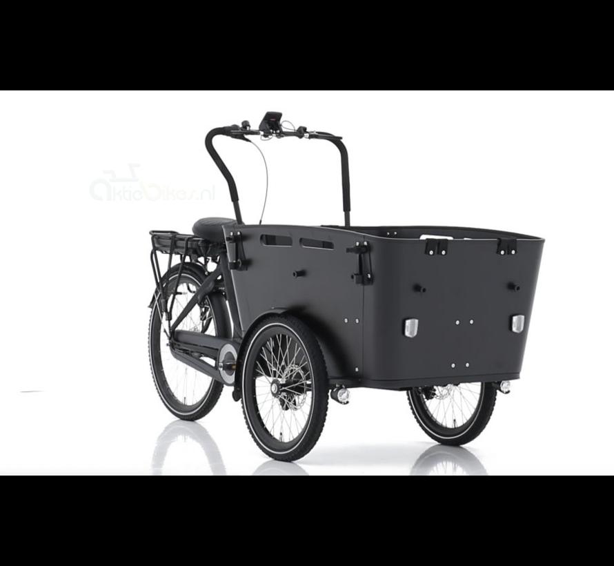 carry 3 7v zwart/zwart 2021 Elektrische bakfiets
