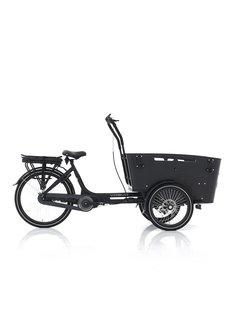 Vogue carry 3 7v zwart/zwart 2021 Elektrische bakfiets