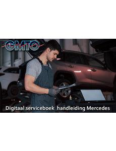 Digitaal Serviceboek Handleiding Mercedes-benz en Smart