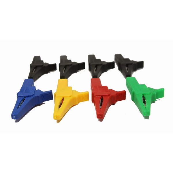 Set of 8 large insulated clips