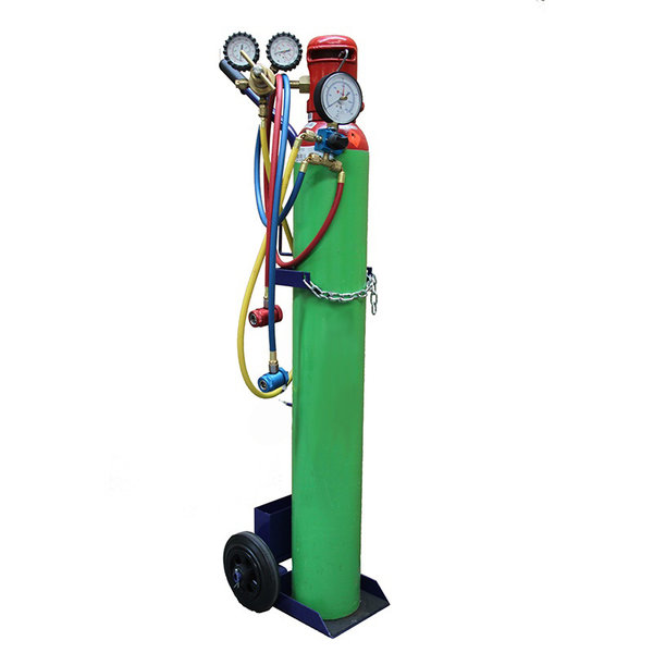 Airco set: Oil checker and forming gas set (excluding gas cylinder)