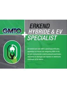 GMTO Hybride & EV Specialist - 2 Trainingsdagen, Equipment en Certificering