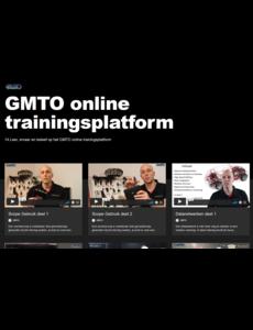 Toegang tot het GMTO online trainingsplatform voor het hele bedrijf
