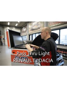 Pass Thru Light Renault / Dacia