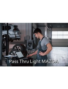Pass Thru Light Mazda