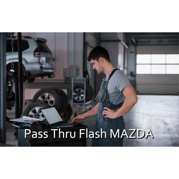Pass Thru Flash Mazda