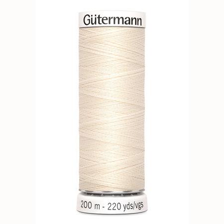 Gütermann Allesnaaigaren Polyester 200m 802