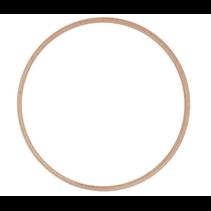 Houten Ring 25Cm (stuk)