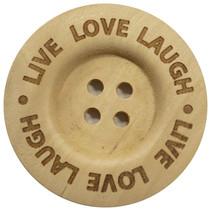 Knoop Live Love Laugh 40mm
