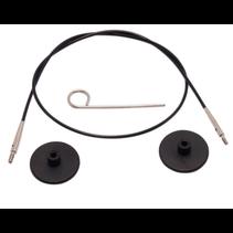 Kabel 80cm zwart