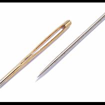 borduurnaalden met punt. ST 18-22 zilver