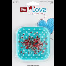 Love Magneetkussen + 9 g Glaskopspeld