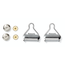 tuinbroekgarnituren ST 30 mm zilver