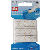 Standaard elastiek 5mm wit