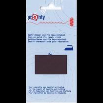 Reparatiedoek Snelfix opstrijkb. 078 d.grijs