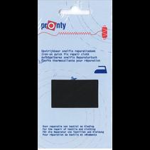 Reparatiedoek Snelfix opstrijkb. 090 zwart