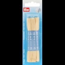 Platte veters 0,8x75cm beige