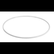 Metalen Ringen wit 22cm