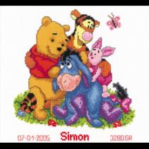 Telpakket Kit Winnie the Pooh en vriendjes