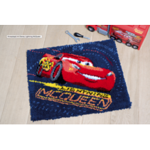 Knooptapijt kit Disney Lightning McQueen
