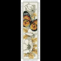 Bladwijzer Telpakket vlinders en bloemen