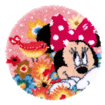 Knopentapijt Disney Minnie Mouse