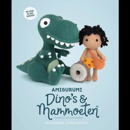 Forte Amigurumi dino's & mammoeten - Joke Vermeiren