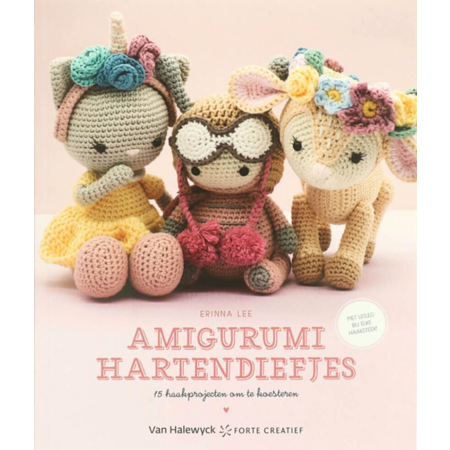 Forte Amigurumi hartendiefjes - Erinna Lee