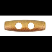 Houten knebel 35mm gebrand