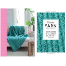 YARN The After Party nr.24 Popcorn-Cables Blanket NL