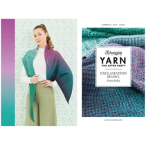 YARN The After Party nr.32 Exclamation Shawl NL