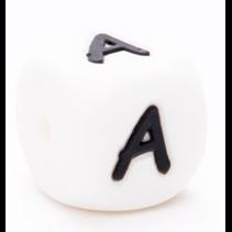 Kraal siliconen Letter Q