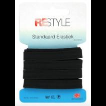 elastiek 10mm zwart 3m